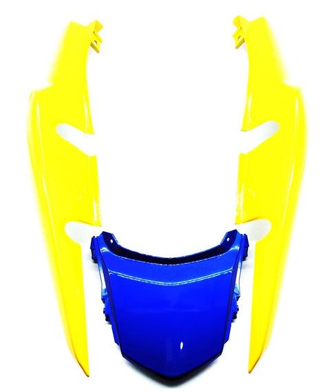 Rabeta Completa Amarela Com Central Azul Titan 150 2014