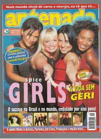 Antenada Revista Ed 9 Spice Girls Com Cartões Postais Leonar