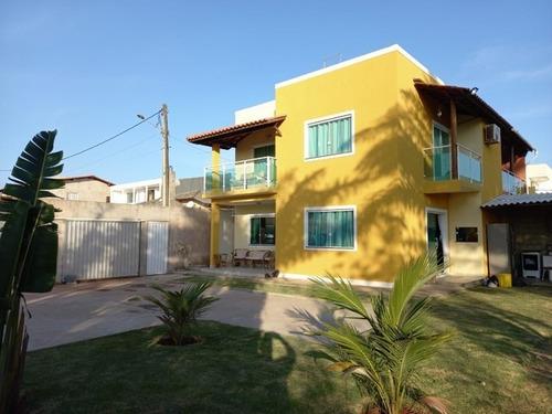Imagem 1 de 12 de Casa Em Arembepe (abrantes), Camaçari/ba De 150m² 3 Quartos À Venda Por R$ 480.000,00 - Ca979032