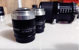 Lente Tipo C Fujifilm De 16mm Hf16ha-1b Fujinon