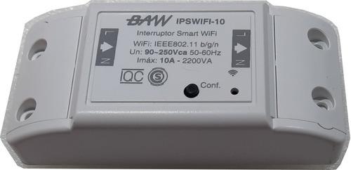 Imagen 1 de 2 de Ipswifi-10 Interruptor Wifi Compatible Echo Alexa Google