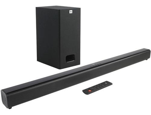 Soundbar Jbl Cinema Sb130 2.1 Sub Com Fio Dolby Audi Bluetoo