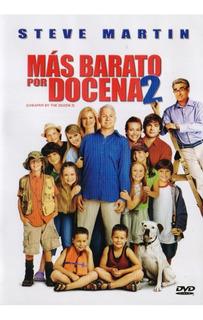 Mas Barato Por Docena 2 Dos Cheaper The Dozen Pelicula Dvd