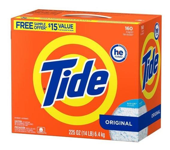 Tide Ultra He Detergente En Polvo 6.4kg Original