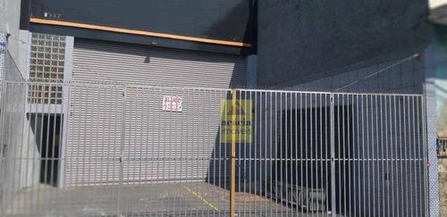 Imagem 1 de 4 de Salão Para Alugar, 220 M² Por R$ 6.000,00/mês - Vila Mangalot - São Paulo/sp - Sl0150