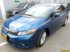 Honda Civic Ex-l Sr At