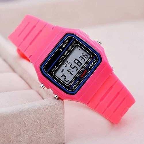 Relógio Feminino Casio F-91 Digital