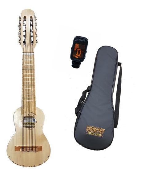 Charango Madera Artesanal Luthier Coro Nr1 Funda Afinador