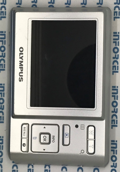 Display Lcd Com Botoes Externos Olympus T-100 T100 Original