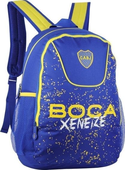 Mochila Boca Grande Escolar Bj56 Original