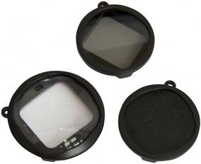 Kit 3 Lentes Filtros Gopro Macro Neutra Polarizador + Bolsa