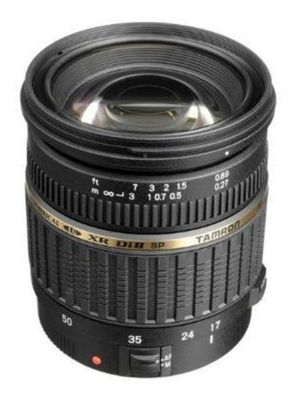 Lente Tamron 17-50mm F2.8 Sem Vc P/ Canon