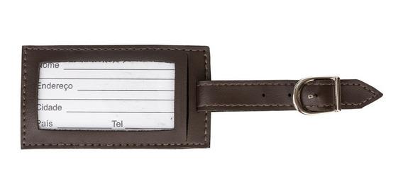 Kit 10 Tag Identificador De Bagagem