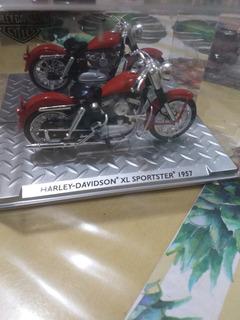 Miniatura Harley Davidson Xl Sportster 1957