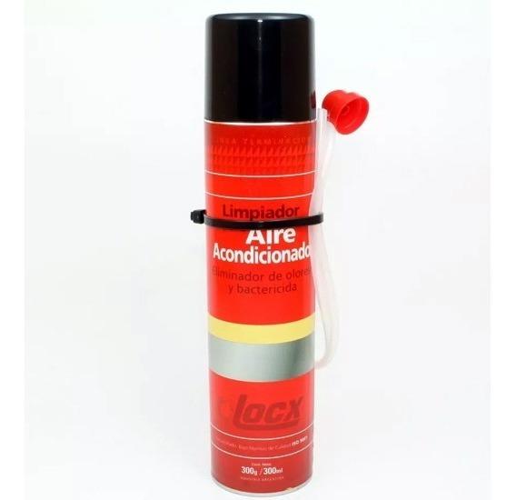 Limpiador De Aire Acondicionado Y Ventilacion Locx 300ml