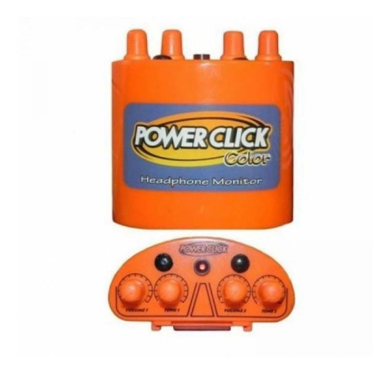 Monitor Individual De Áudio Fc1 Laranja - Power Click