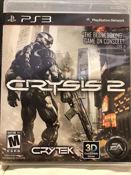 Crysis 2 Playstation 3 Ps3 Mídia Física Original