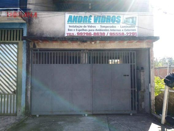 Casa Para Alugar Por R$ 500/mês - Jardim Luciana - Franco Da Rocha/sp - Ca0641