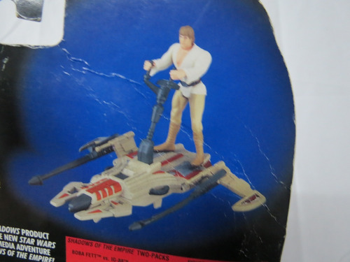 Imagen 1 de 8 de Figura Luke Skywalker Más Nave Original  Año  1996 Star Wars