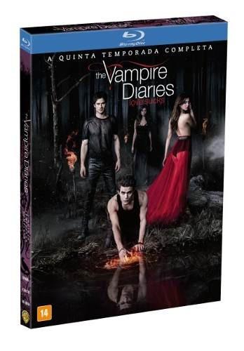 Box Blu Ray The Vampire Diaries 5 Temporada Original Novo