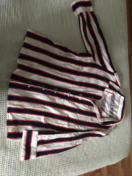 Camisa Rayada Mujer Le Utthe