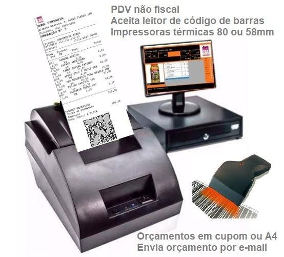 Pdv Controle Estoque, Caixa, Produtos, Orçamentos