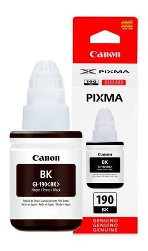 Imagen 1 de 1 de Tinta Canon Gi-190 Negra Tinta Continua
