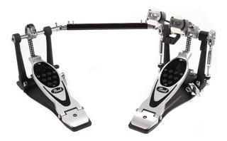 Pedal Doble Para Bombo Pearl Eliminator P-2002c + Estuche