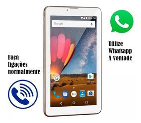 Tablet Função Celular Dual Chip 8gb (lancamento 2018)