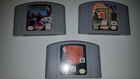 3 Fitas De Nitendo 64 , Starfox64 , Castlevania , Zone 98