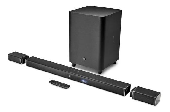 Jbl Bar 5.1 Soundbar 4k Home Sem Fio - 110v