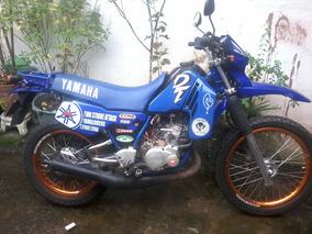 Yamaha Dt 200 96 Azul Mono Aba