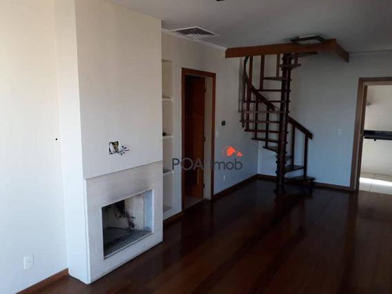 Cobertura Com 3 Dormitórios À Venda, 199 M² Por R$ 860.000 - São João - Porto Alegre/rs - Co0214