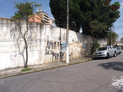 Terreno Residencial À Venda, Vila Caminho Do Mar, São Bernardo Do Campo. - Te0027