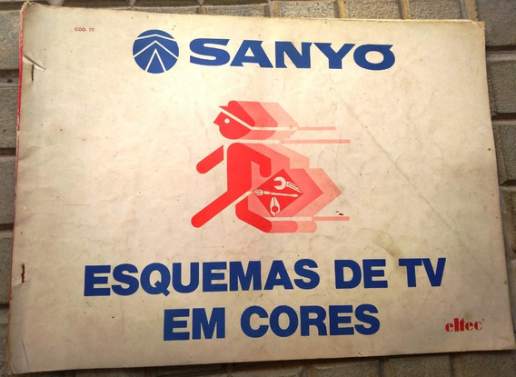 Esquema Elétrico Tv Sanyo A Cores