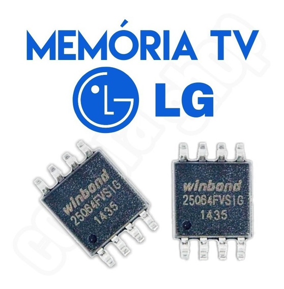 Memoria Flash Tv Lg 42pg20r Kit 3x Peças