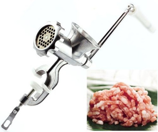 Heavy Duty Hand Operated Meat Mincer Manual Grinder Salchich