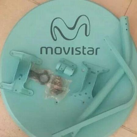 Antena Parabolica Movistar Nueva Sin Lnb (15v)