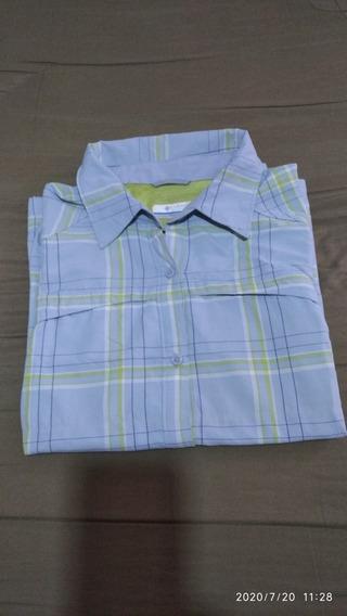 Camisa Columbia De Secado Rápido (dama Talle L )
