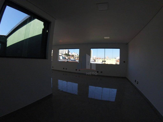 Sala Para Alugar, 150 M² Por R$ 3.000/mês - Jardim Pilar - Mauá/sp - Sa0040