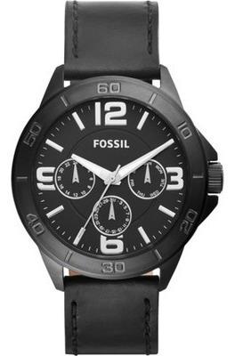 Relógio Fossil Masculino Preto Bq2204 Importado Eua