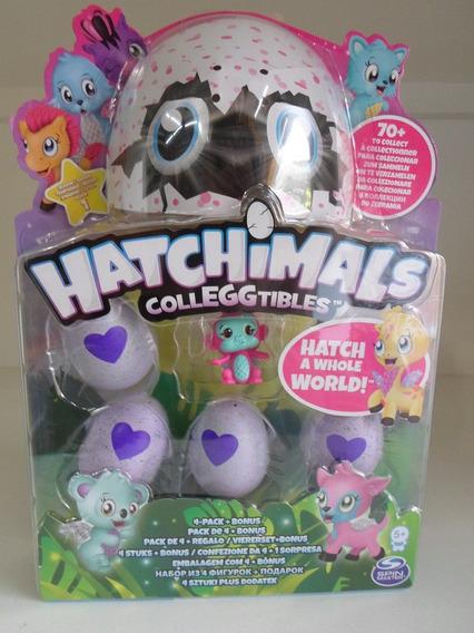 Hatchimals Blister Com 4 Ovos + 1 Hatchimals. E