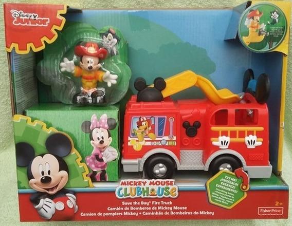 Mickey Mouse Camion De Bomberos Con Sonido (no Es Tren)