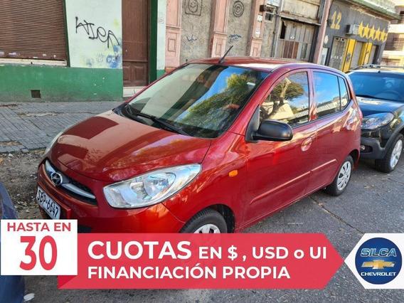 Hyundai I10 Gls 1.1 2013 Rojo 5 Puertas