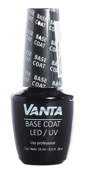 Vanta Base Coat Esmalte Semipermanente Gel On-off X 15 Ml