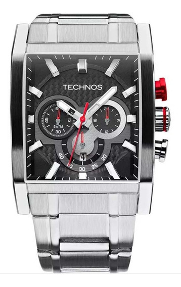 Relogio Technos Masculino Performance Sports Carbon Os2aaf/1