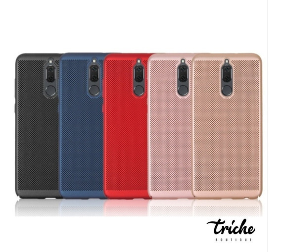 Funda Case Slim Elegante Puntos Colores Huawei Mate 10 Lite