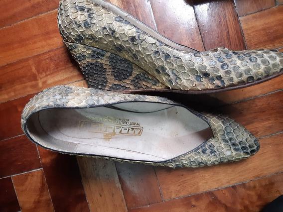 Zapatos Sandalias Con Taco Ardaches Talle 37 Con Uso Comodos