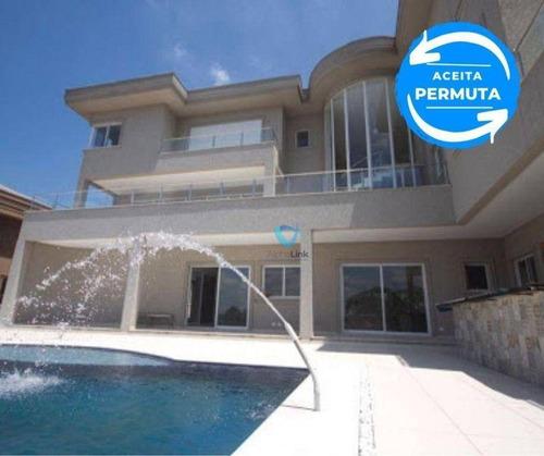 Imagem 1 de 18 de Casa Com 5 Dormitórios, 1000 M² - Venda Por R$ 9.800.000,00 Ou Aluguel Por R$ 45.000,00 - Alphaville - Barueri/sp - Ca1039