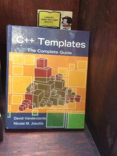 Imagen 1 de 5 de Plantillas De C++ - Guía Completa - David Vandevoorde